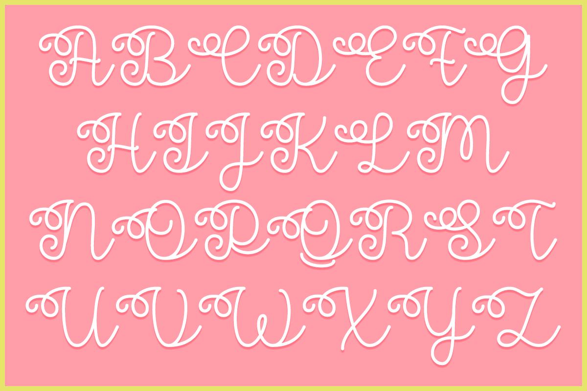 Flower Shop by Misti's Fonts.
