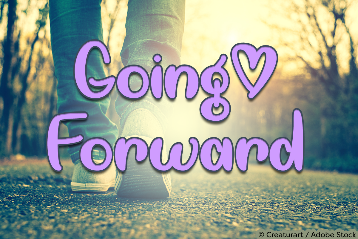 Going Forward by Misti's Fonts. Image credit: © Creaturart / Adobe Stock