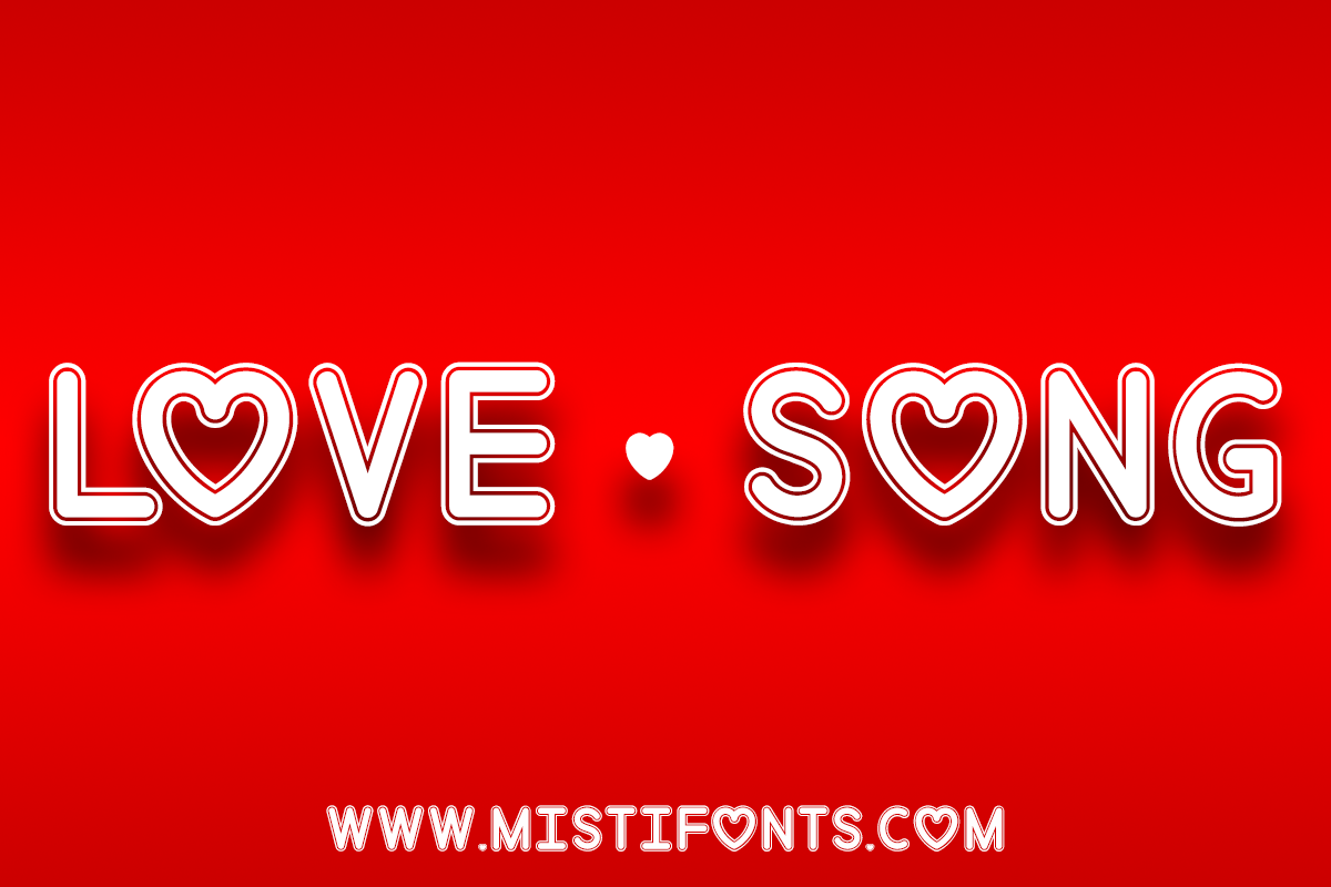 Love Song by Misti's Fonts.
