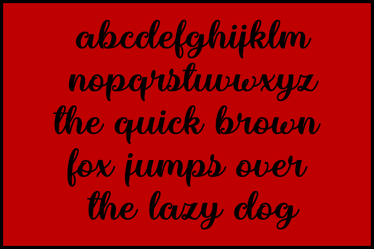 Marienkaefer by Misti's Fonts.