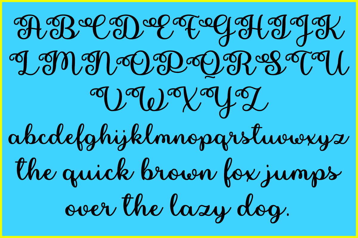 Pretty Summer by Misti's Fonts.