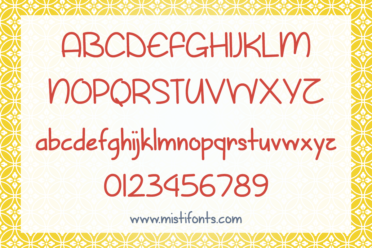 Sunny Spring Day by Misti's Fonts