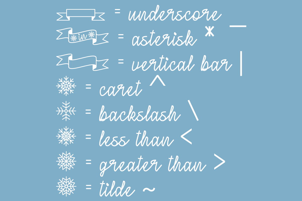 Winter in January by Misti's Fonts.
