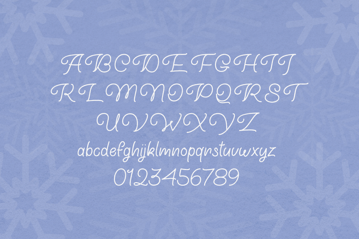 Winter Wunsch by Misti's Fonts.