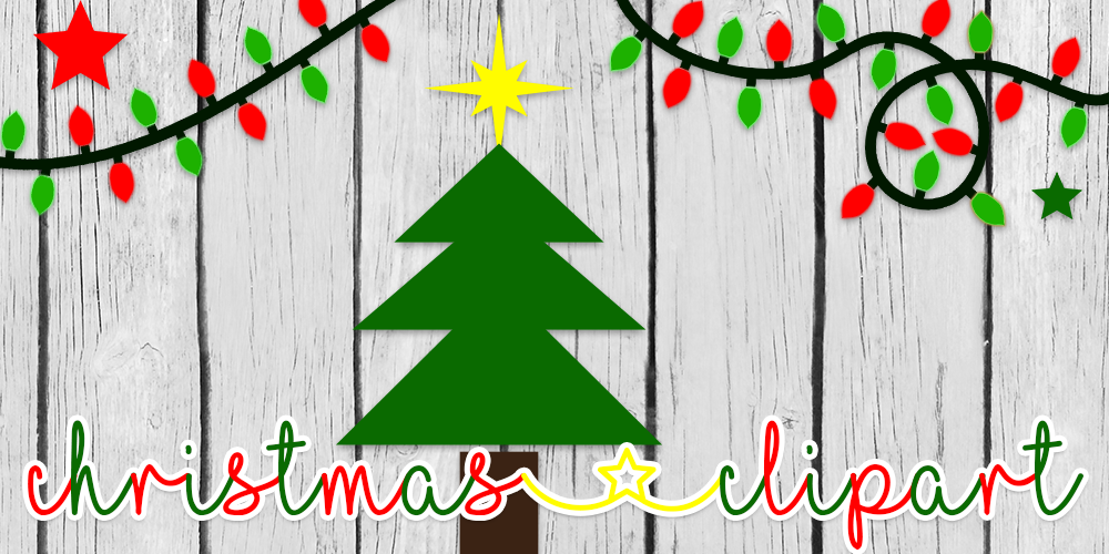 I Love Christmas Clipart