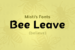 bee-leave