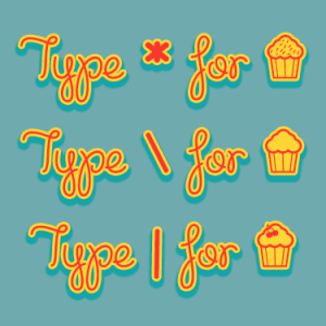 Cupcake Party Font by Misti's Fonts