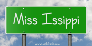 Miss Issippi Font by Misti's Fonts. Image Credit: © Rex Wholster / Adobe Stock