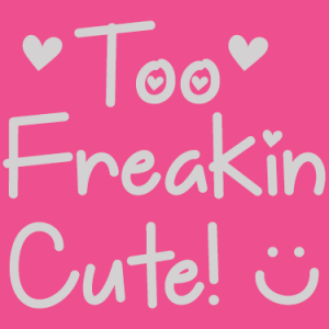 Too Freakin Cute Font by Misti's Fonts.